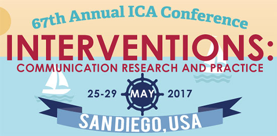 Our presentations at ICA 2017